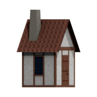 Half Timbered House Texture Pack