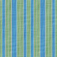 Coordinated Cottons - Blue on Green Stripes