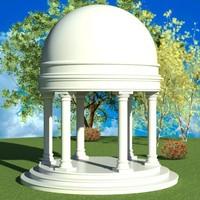 rfa architecture garden templetto