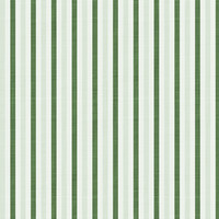 Fun with Florals - Green Stripe