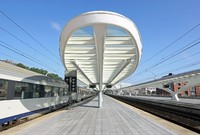 Train platform Guillemins