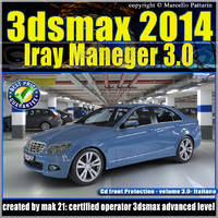 3ds max 2014 Iray Material vol 3 Italiano cd front