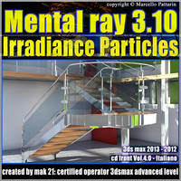 Mental Ray 3.10 3dsmax 2013 Vol.4 Irradiance Particles cd front