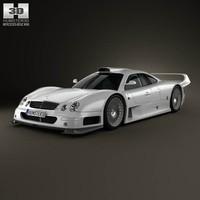 3D model of Mercedes-Benz CLK-class GTR AMG
