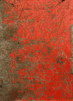 Painted scratched metal texture