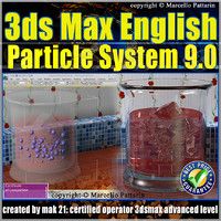3ds max Particle System Volume 9.0_English_cd front
