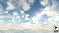 Patchy Clouds Day Skybox