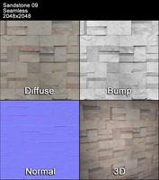 Sandstone Seamless Texture 09