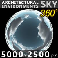 Sky 360 Clouded 010 5000x2500