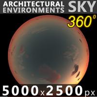 Sky 360 Sunset 045 5000x2500