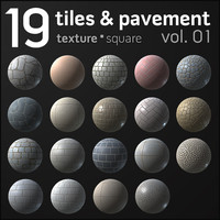 Tiles & Pavement Collection vol.1