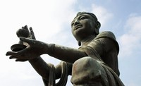 Buddhistic statue