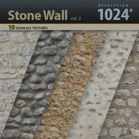 Stone Wall Textures vol.2