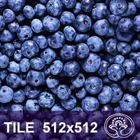 Blueberry tile