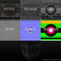 SCI-FI DM_textures vol
