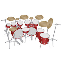 Vector Stock: Drum Kit