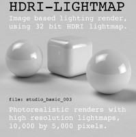 HDRI studio basic 003