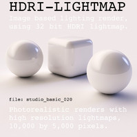 HDRI studio basic 020