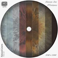 Human Iris Textures NCbs