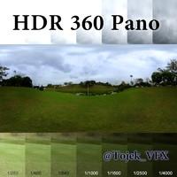 HDR 360 Pano Rio grass park05