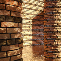 High Resolution Tileable Stripes Brick (6)