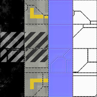 Sci Fi tiles (8 versions)