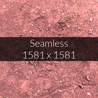 Red Soil Texture Map 10