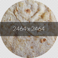 Indian bread texture map