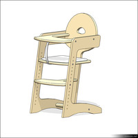 Baby High Chair 01130se