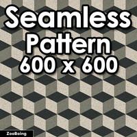 Pattern 001 - Cubes