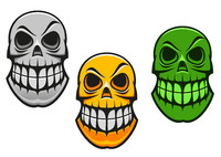 Monster skull