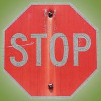 STOP SIGN TEXTURE C