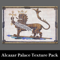 Alcazar Palace of Seville Texture Pack