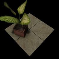 Stone Beige Marble Tiles B