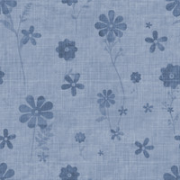 Fun with Florals - Blue Floral 2