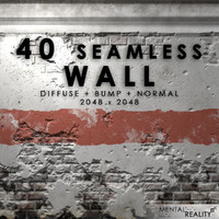 40 High Resolution Seamless Wall Textures