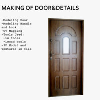Making Of Door and Details