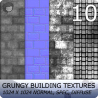 10 Grungy Building Textures
