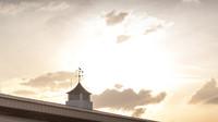 Barn Sunset Panoramic