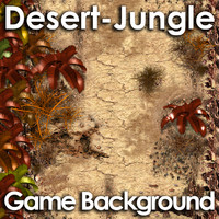 Desert Jungle Game Background