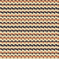 Country Club Twills - Ocean Sunset Zig Stripe