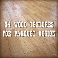 Wood for parquet