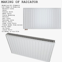 Making of Radiator