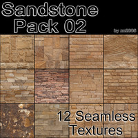Sandstone Pack 02 (12 seamless textures)