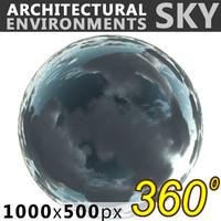 Sky 360 Clouded 003 1000x500