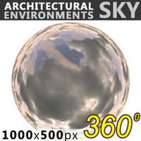 Sky 360 Clouded 006 1000x500