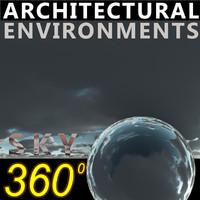 Sky 360 Clouded 008