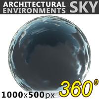 Sky 360 Clouded 008 1000x500