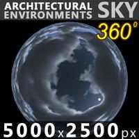 Sky 360 Clouded 013 5000x2500
