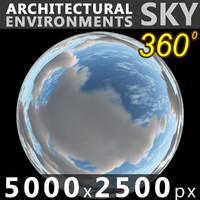 Sky 360 Clouded 015 5000x2500